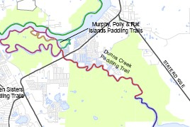 Dunns Creek Map