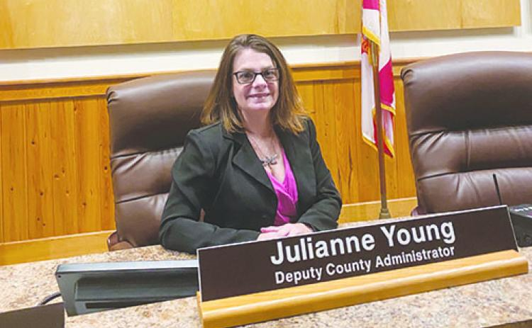 Julianne Young, Deputy County Administrator